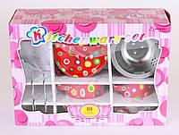 Набор кухонной посуды порцеляновый, 10 предметов, в кор. 32*22*11см (12шт)(CH1454)