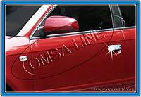 Накладки на ручки Audi A3 (2004-2012) 4 шт. нерж. Omsa