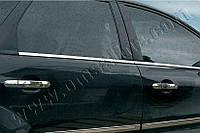 Нижние молдинги стекол Ford Focus 5D,SD,SW (2005-2008) (нерж.) 4 шт