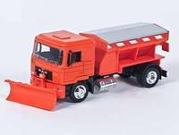 "Машина метал. New Ray грузовик ""SCANIA R124/400"", 1:32, в кор. 36*15*10см(10523A)"