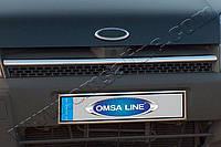 Накладкa на решетку радиатора Ford Torneo Connect (2002-2006) (нерж.) 1 шт