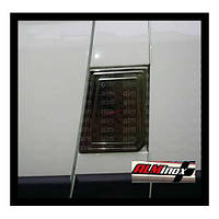 Накладка на лючок бензобака Citroen Jumper (2007-2014) (нерж.) Omsa