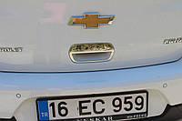 Накладка на ручку багажника Chevrolet Cruze (2009+) HB нерж. Omsa