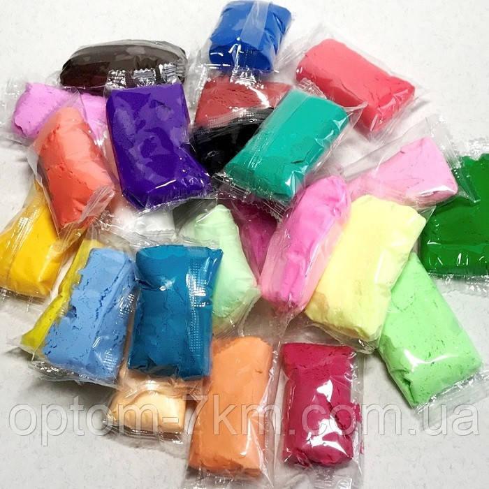 Набор Тесто для Лепки Детский Пластилин Super Light Clay Niboshi 5D Сундук 24 Цвета