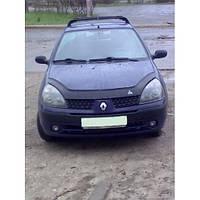 Дефлектор капота, мухобойка Renault Clio Symbol с 2001-2008 г.в. VIP