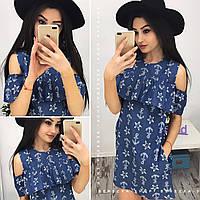 Платье женское джинсовое 33749 Платья