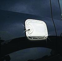 Накладка на лючок бензобака Renault, Dacia Logan I (2005-2008) нерж. Omsa