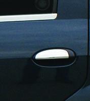 Накладки на ручки Renault, Dacia Logan MCV (2008-2014) 4 шт., нерж. Omsa