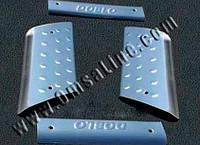 Накладки на пороги внутренние Fiat Doblo 2001-2010 4 шт. Omsa