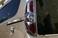 Накладка на лючок бензобака Fiat Doblo 2010- (нерж.) Omsa