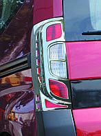Накладка на стопы с изгибом Fiat Fiorino, Qubo 2008- 2 шт, ABS