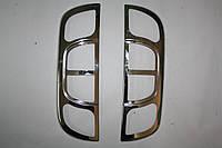 Накладка на стопы Fiat Fiorino, Qubo 2008+ (2 шт, нерж.) - Carmos