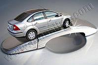 Накладки на ручки Ford Focus II (2005-2008) 4 нерж. Omsa