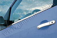 Накладки на ручки Ford Fiesta (2002-2008) 4 нерж. Omsa
