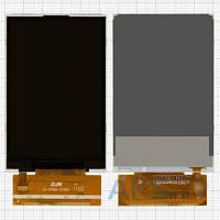 Дисплей (экран) для телефона Fly IQ260 Blackbird