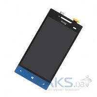 Дисплей (экран) для телефона HTC Windows Phone 8S A620e + Touchscreen Original Blue