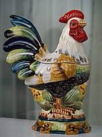 Шкатулка Петух 15 см керамика (арт. 59-533)