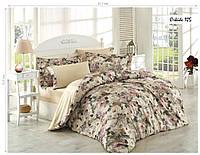 Комплект постельного белья ISSI HOME Сатин + жатый шелк 1523