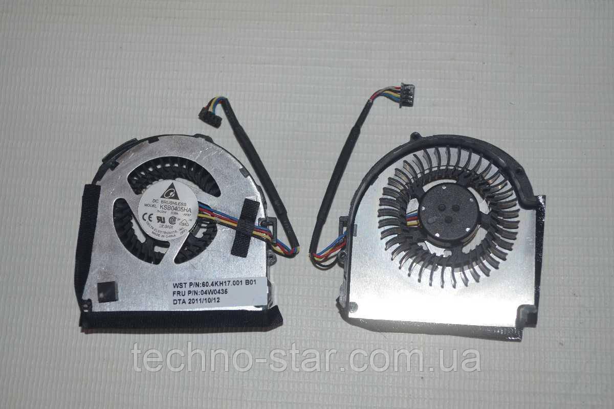 Вентилятор (кулер) DELTA KSB0405HA для IBM Lenovo ThinkPad X220 X220I X220IT X230T CPU FAN
