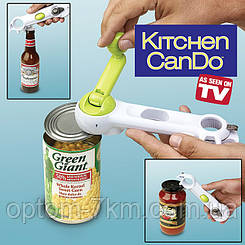 Открывалка Консервный Нож 6 в 1 Kitchen CanDo 2767 VJ