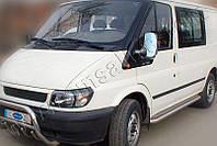 Накладки на зеркала Ford Transit (2003-) (Abs-хром.) 2 шт - Omsa