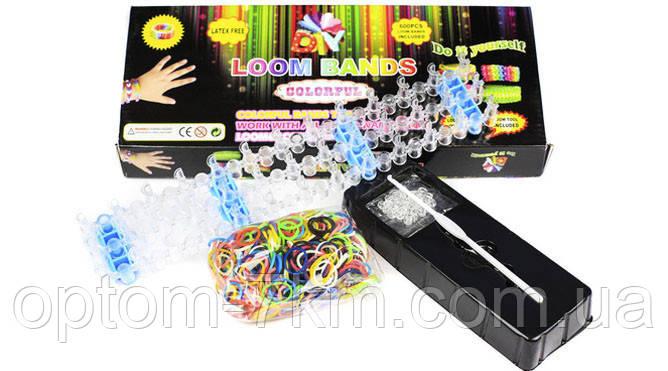 Набор Резинок для Браслетов Loom Bands со Станком