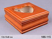 "Шкатулка ""Сердце"" (186-115)"