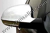 Накладки на зеркала Volkswagen Jetta V SD (2005-2011) (нерж.) 2 шт- Omsa