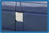 Накладка на лючок бензобака Volkswagen T4 Multivan (1995-2003) (нерж.) Omsa