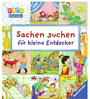"""Набор развивающих Виммельбухов в дорогу  """"Найди и покажи"""" , Sachen suchen für kleine Entdecker"""