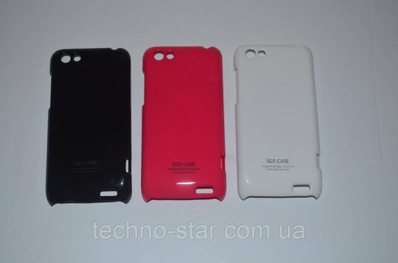 SGP чехол-накладка для HTC One V T320e