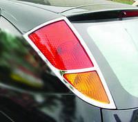 Накладка на стопы Ford Focus I (1998-2005) (2 шт, пласт.) Omsa