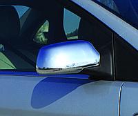 Накладки на зеркала Ford Focus II (2005-2008) (2 шт, пласт.) Omsa