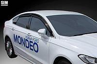 Дефлекторы окон, ветровики FORD MONDEO 2015-, Fusion 2012- SIM