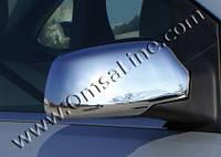 Накладки на зеркала Ford Fiesta HB 5D,3D 2006-2009 (Abs хром.) 2 шт.(без повтор.поворота)  - Omsa
