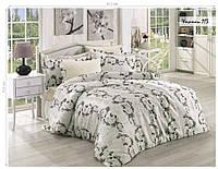 Комплект постельного белья ISSI HOME Сатин + жатый шелк 1525