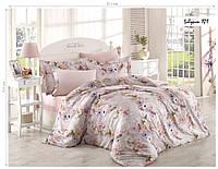 Комплект постельного белья ISSI HOME Сатин + жатый шелк 1526