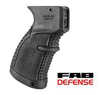 Эргономичная прорезиненая пистолетная рукоятка AGR-47 Fab Defense для АК
