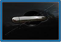 Накладки на ручки Mercedes Citan Panel (2013-) 3 шт. нерж. Omsa