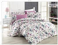 Комплект постельного белья ISSI HOME Сатин + жатый шелк 115 Евро