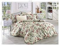 Комплект постельного белья ISSI HOME Сатин + жатый шелк 1531