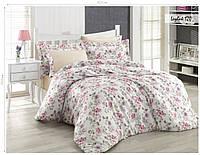 Комплект постельного белья ISSI HOME Сатин + жатый шелк 1532