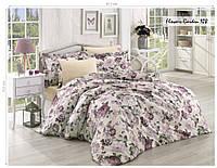 Комплект постельного белья ISSI HOME Сатин + жатый шелк 1533