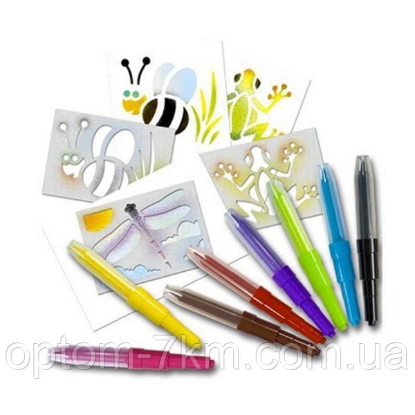 Волшебные Воздушные Фломастеры Airbrush Magic Pens