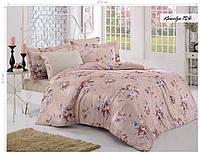Комплект постельного белья ISSI HOME Сатин + жатый шелк 1534
