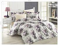 Комплект постельного белья ISSI HOME Сатин + жатый шелк 1537
