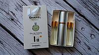 НАБОРЫ духов по 15 мл 3 шт  Chanel Chance Eau Fraiche (ж)