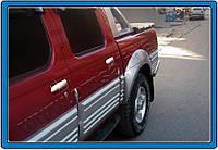 Накладки на ручки Nissan Pick-Up,Skystar D22 (1999-) 4-дверн. нерж. Omsa
