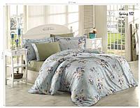 Комплект постельного белья ISSI HOME Сатин + жатый шелк 102 Евро
