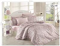 Комплект постельного белья ISSI HOME Сатин + жатый шелк 1540